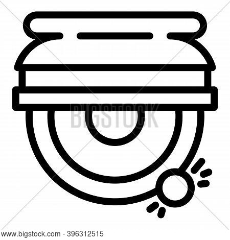 Carpentry Grinding Machine Icon. Outline Carpentry Grinding Machine Vector Icon For Web Design Isola