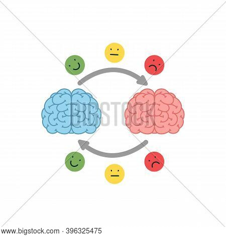 Empathy. Empathy And Exchange Of Emotions Concept