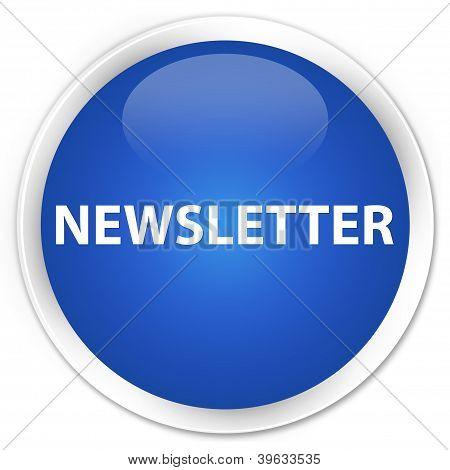 Newsletter Blue Button