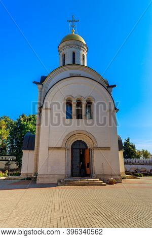 Cathedral Of The Nativity Of The Blessed Virgin Mary Of Theotokos Nativity Monastery In Vladimir, Ru