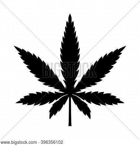 Marijuana Leaf Or Cannabis Leaf Weed Icon