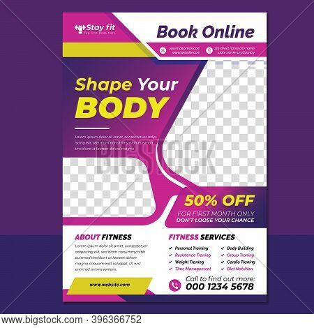 Fitness Flyer, Gym Flyer Design,10 Best Free Fitness & Gym Flyer Templates, Gym Fitness Templates, F