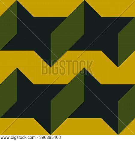 Stars, Shapes Seamless Pattern. Ethnic Ornate. Folk Ornament. Geometric Image. Tribal Wallpaper. Geo