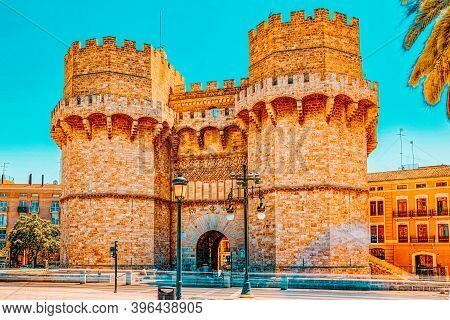 Serrans Gate Or Serrans Towers Is One Of The Twelve Gates ,of Th