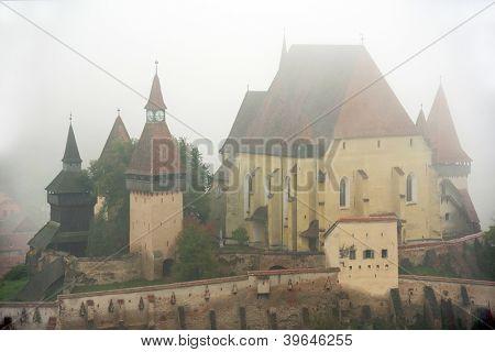 Fortified church in Biertan, Transylvania, Romania, Europe