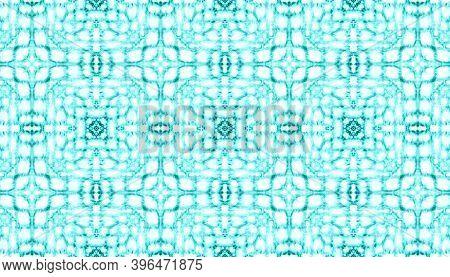 Seamless Moroccan Ceramic Pattern. Abstract Vintage Wallpaper. Handdrawn Ornamental Textile Design.