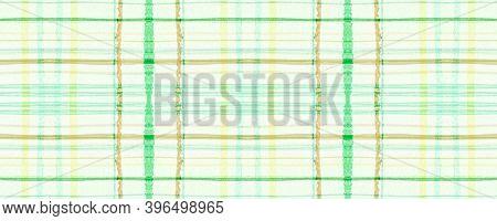 Green Fall Plaid Pattern. Seamless Tartan Texture. Checkered Shirt. Classic Scotland Material. Plaid