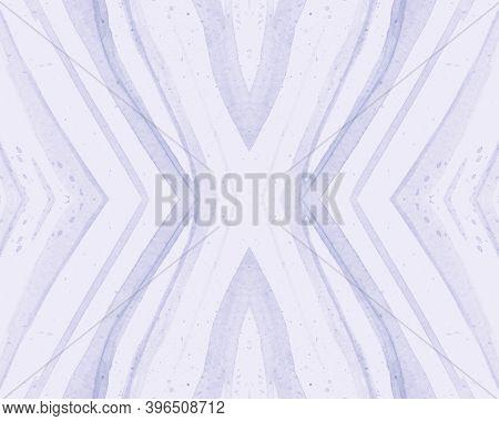 Seamless African Ornament. Abstract Texture. White Safari Skin Print. Camouflage Stripe Banner. Afri