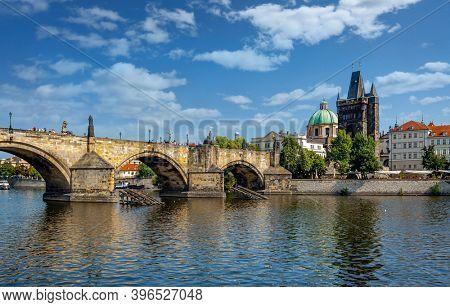 Prague, Czech Republic. Charles Bridge