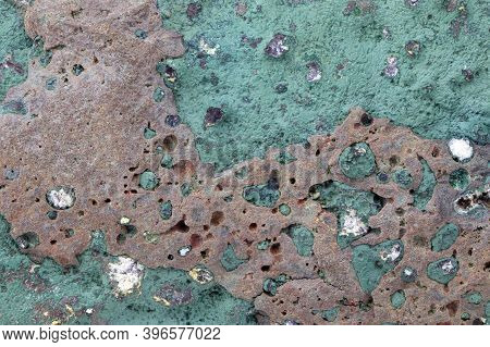 The Reverse Side Of The Amethyst Background.mineral Amethyst. Crystal Stone. Abstract Background
