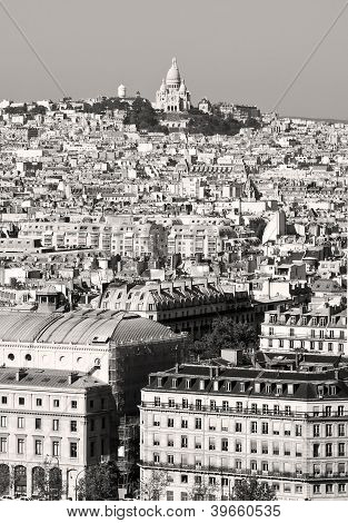 Montmartre, Paris architecture