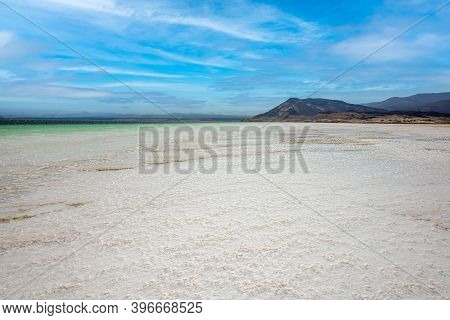 Lake Assal Is The Largest Salt Lake In Djibouti. It Is A Crater Lake In The Central Part Of Djibouti