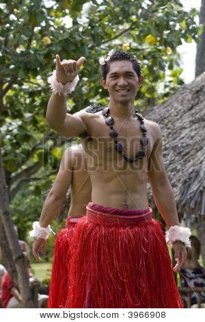 Tongan Shaka Sign