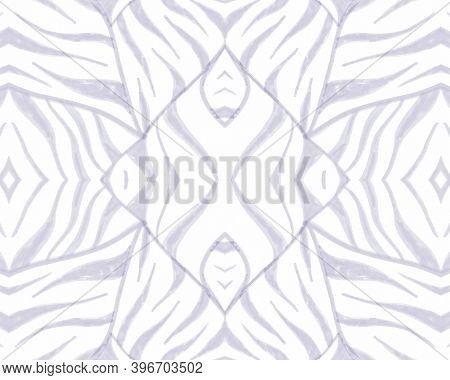Tribal Background. Abstract Ethnic Print. Camouflage Zebra Stripes. African Textile Design. Seamless