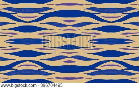Violet Animal Skin Print. Purple African Wallpaper. Zebra Skin Pattern. Seamless Exotic Background.