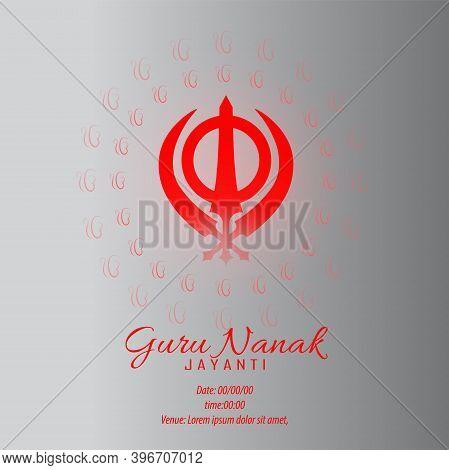 Vector Illustration For Guru Nanak Jayanti The Birth Anniversary Of Guru Nanak Dev Ji.