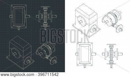 Speed Reducer Drawings