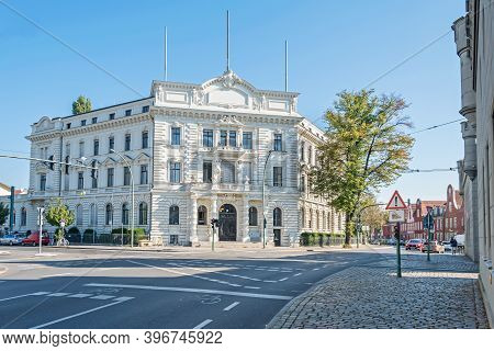 Potsdam, Germany -  September 30, 2020: Building Of The Administrative Court, The Former Insurance B
