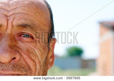 Old Wrinkled Man