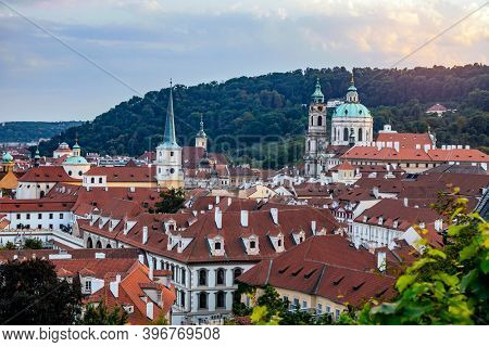 Prague,  Czech Republic in summer