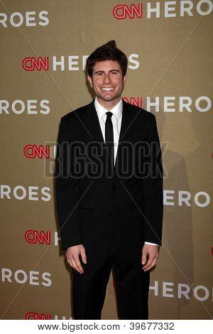 LOS ANGELES - DEC 2:  Jordan Wall arrives to the 2012 CNN Heroes Awards at Shrine Auditorium on December 2, 2012 in Los Angeles, CA