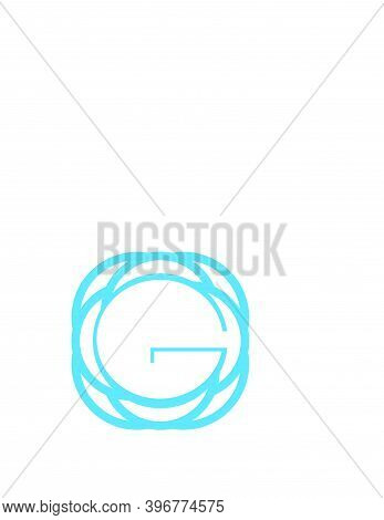 G, Go, Og, Global G Network Initials Geometric Logo And Vector Icon