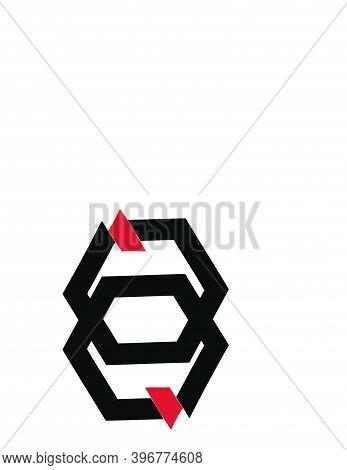 Qq, Gg, Ge, Aa, Jn, Initials Geometric Logo And Vector Icon