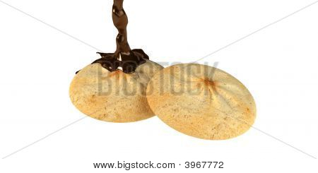 Cookies With Chocolate Splash