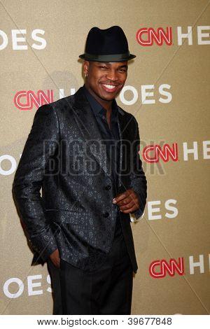 LOS ANGELES - DEC 2:  Ne-Yo arrives to the 2012 CNN Heroes Awards at Shrine Auditorium on December 2, 2012 in Los Angeles, CA