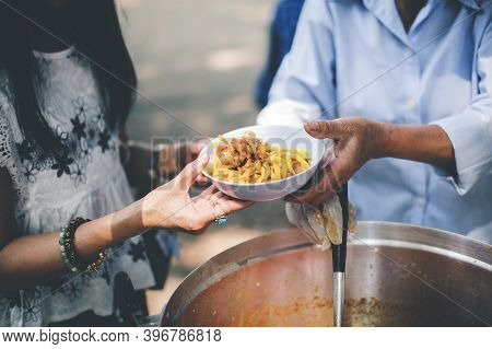 Sharing Food To Homeless And The Poor: The Concept Of Feeding