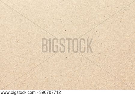 Texture Of Beige Old Paper, Crumpled Background. Vintage White Grunge Surface Backdrop. Structure Of