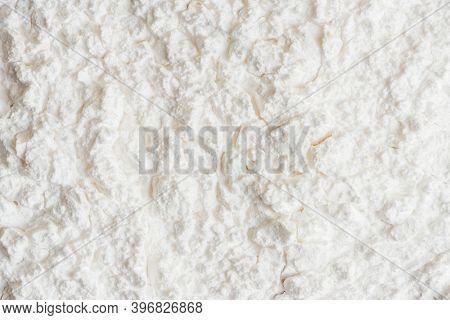 Plain white powder texture background