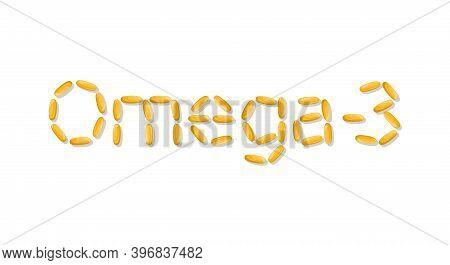 The Quote Of Capsules - Omega-3. Fish Oil, Omega-6, Omega-9.