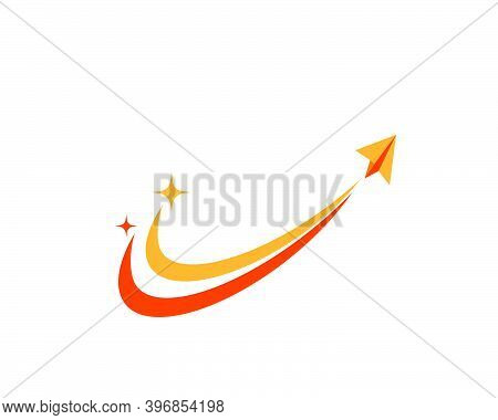Faster Speed Logo Icon Vector Illustration Design