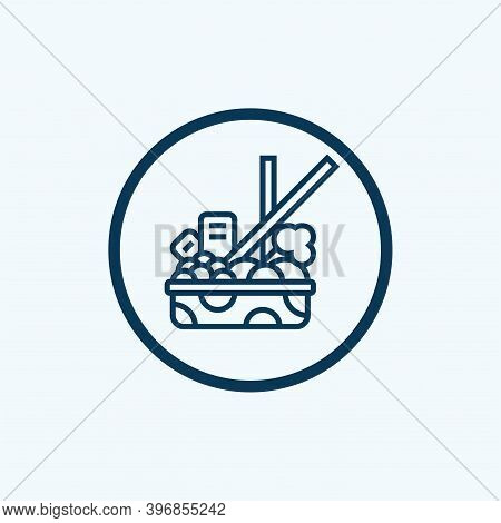 Nutrient Content Icon From Organic Farming Collection. Simple Line Nutrient Content Icon For Templat