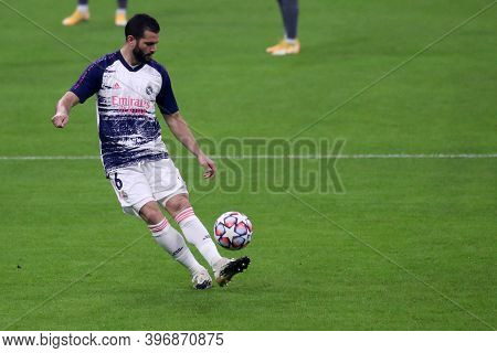 Milano, Italy. 25th November 2020. Nacho Ignacio Fernandez Of Real Madrid Fc   During Uefa Champions