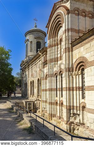 Kerch, Crimea - September 16, 2020: The Main Attraction Of The City Of Kerch Is The Church Of St. Jo