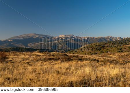 Views Of The Moncayo And Surroundings On A Clear Day