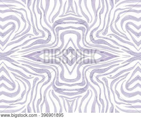 Tribal Ornament. Fashion Ethnic Texture. Geometric Zebra Stripes. Safari Textile Design. Seamless Tr