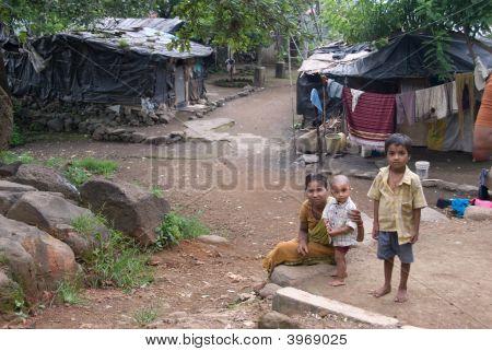 Migranten Familie