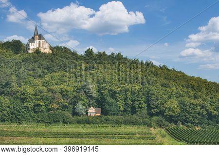 Sankt Anna Chapel In Burrweiler,palatinate Wine Region,germany
