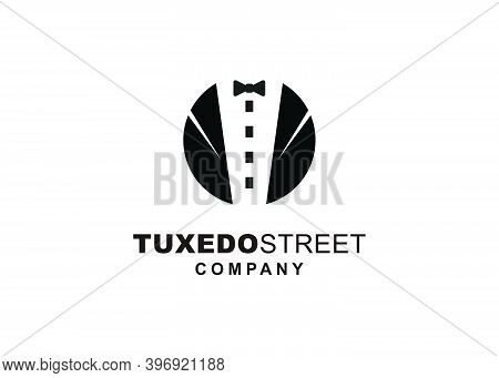 Symbol Icon Street Tuxedo Illustration Logo Design