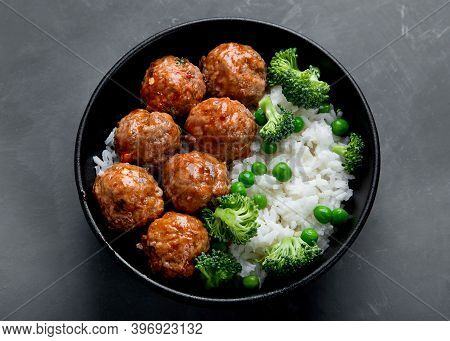 Homemade Meatballs With Rice