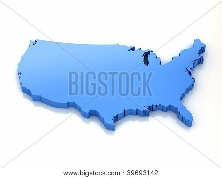 Map Of United States Of Ameria