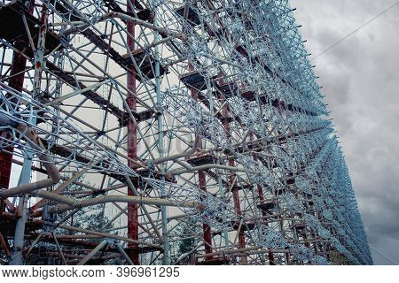 Chernobyl Exclusion Zone. Duga Radar Was A Soviet Over-the-horizon Oth Radar System Used As Part Of