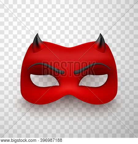 Devil Mask, Scary Mysterious Monster Costume Decoration