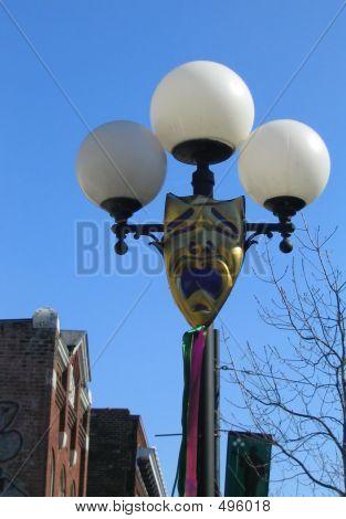 Mardi Gras 2 Lamp Post_filtered