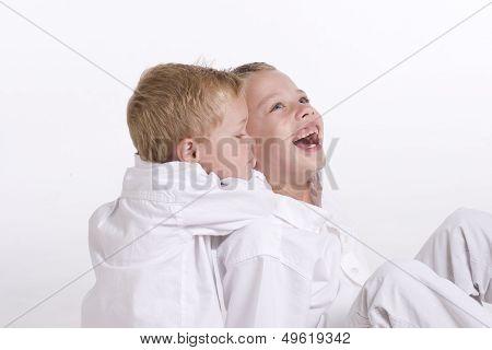Boys Having Fun
