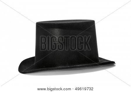 a top hat on a white background