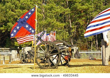 Confederate Reenactment